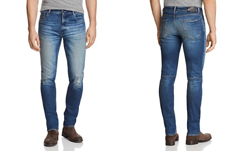 Belstaff Westering Slim Fit Jeans in Faded Blue - Bloomingdale's_2