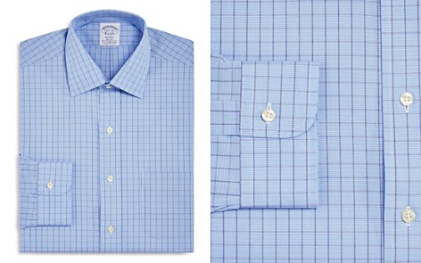 Brooks Brothers Houndstooth Grid Classic Fit Dress Shirt - Bloomingdale's_2