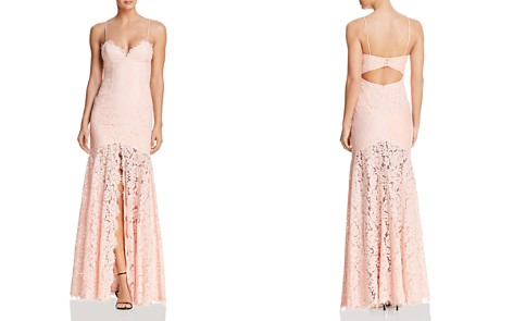 Fame and Partners The Babe Lace Gown - Bloomingdale's_2