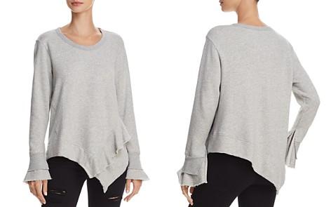 Wilt Ruffled Asymmetric Sweatshirt - Bloomingdale's_2