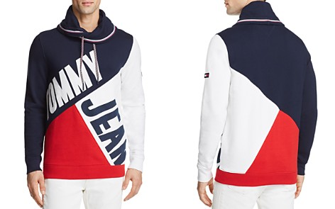 Tommy Hilfiger Tommy Jeans Color-Blocked Funnel Neck Pullover - Bloomingdale's_2