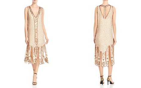 Haute Hippie Love and Other Disasters Beaded Silk Car-Wash Dress - Bloomingdale's_2