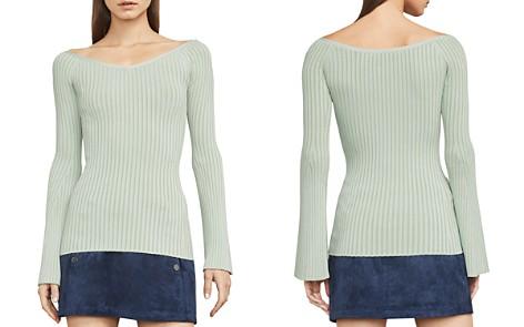 BCBGMAXAZRIA Zoee Rib-Knit Sweater - Bloomingdale's_2