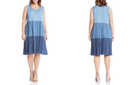 Karen Kane Plus Tiered Chambray Dress - Bloomingdale's_2