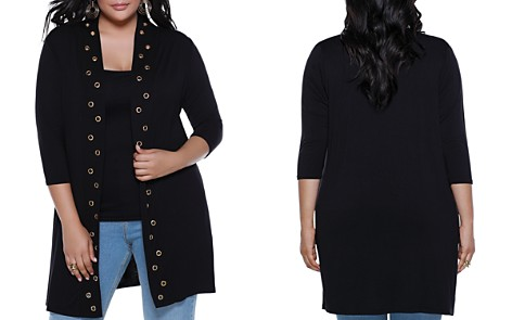Belldini Grommet Duster Cardigan - 100% Exclusive - Bloomingdale's_2