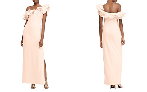 Lauren Ralph Lauren Ruffled One-Shoulder Gown - 100% Exclusive - Bloomingdale's_2