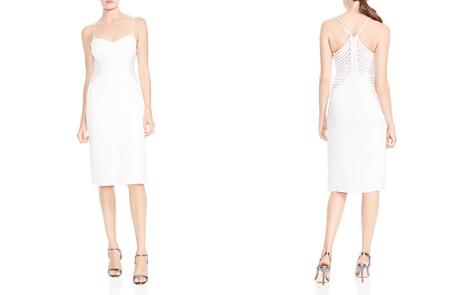 HALSTON HERITAGE Strip-Appliqué Sheath Dress - Bloomingdale's_2