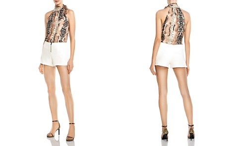 Haute Hippie Riding Wild Mini Shorts - Bloomingdale's_2
