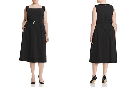 Lafayette 148 New York Plus Armilla Belted Midi Dress - Bloomingdale's_2