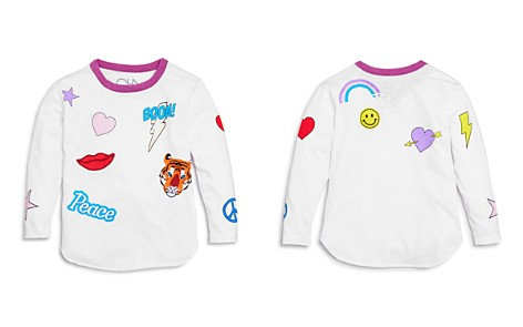 CHASER Girls' Mixed Graphic Tee - Big Kid, Little Kid - Bloomingdale's_2