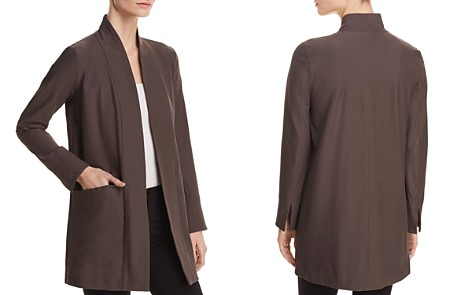 Eileen Fisher Petites Lightweight Open-Front Jacket - Bloomingdale's_2