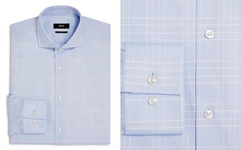 BOSS Windowpane Slim Fit Dress Shirt - Bloomingdale's_2