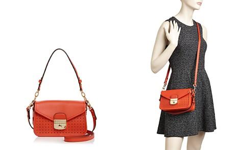 Longchamp Mademoiselle Small Leather Crossbody - Bloomingdale's_2