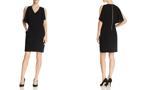 Gerard Darel Dolly Slit-Sleeve Sheath Dress - 100% Exclusive - Bloomingdale's_2