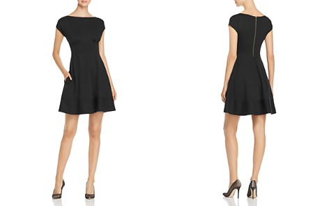 kate spade new york Fiorella Ponte Cap-Sleeve Dress - Bloomingdale's_2