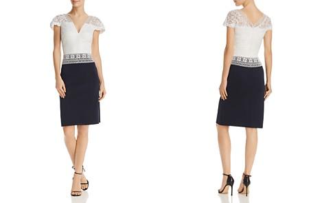 Tadashi Shoji Lace Bodice Dress - Bloomingdale's_2