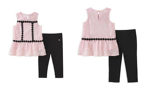 kate spade new york Girls' Floral Mesh Top & Leggings Set - Little Kid - Bloomingdale's_2