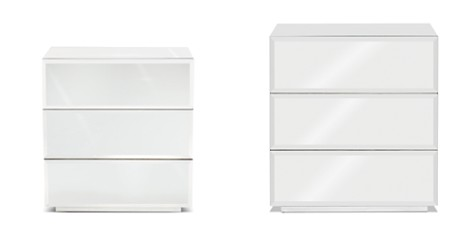 Bloomingdale's Sasha Mirrored 3-Drawer Nightstand_2