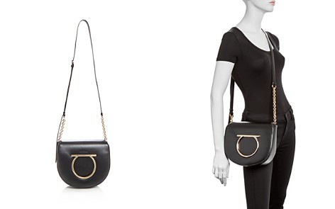 Salvatore Ferragamo Vela Large Leather Crossbody - Bloomingdale's_2