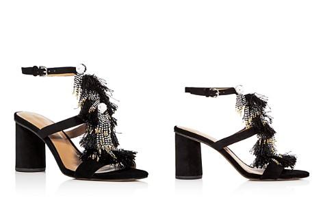 Rebecca Minkoff Women's Alnie Suede Beaded Tassel High-Heel Sandals - Bloomingdale's_2