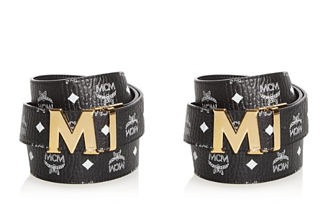 MCM Claus Visetos Reversible Belt - Bloomingdale's_2