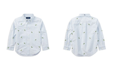 Polo Ralph Lauren Boys' Striped Lizard Oxford Shirt - Little Kid - Bloomingdale's_2
