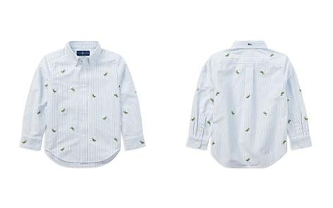 Polo Ralph Lauren Boys' Striped Lizard Oxford Shirt - Little Kid - Bloomingdale's_2