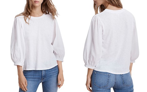 Velvet by Graham & Spencer Simpson Blouson Sleeve Top - Bloomingdale's_2