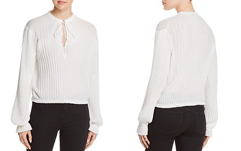 Elizabeth and James Murphy Pleated Knit Top - Bloomingdale's_2