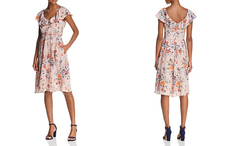 Rebecca Taylor Floral Silk Dress - Bloomingdale's_2