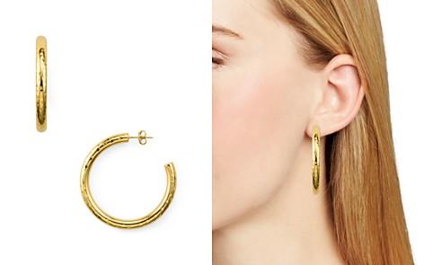 Argento Vivo Dimpled Hoop Earrings - Bloomingdale's_2