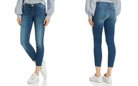 FRAME Le Skinny De Jeanne Raw-Edge Skinny Jeans in Odyssey - 100% Exclusive - Bloomingdale's_2