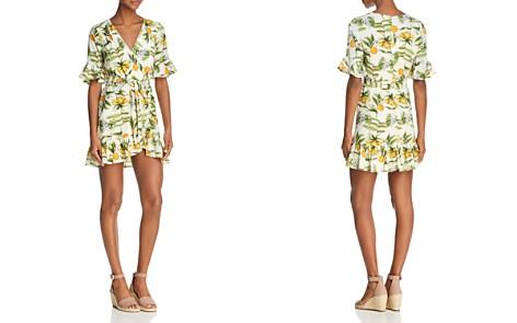 Lost and Wander Limonada Ruffled Mini Dress - Bloomingdale's_2