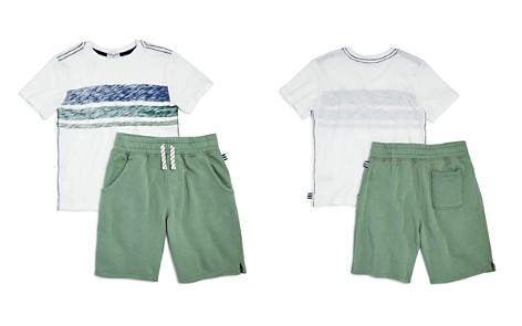 Splendid Boys' Faded Striped Tee & Terry Shorts Set - Little Kid - Bloomingdale's_2
