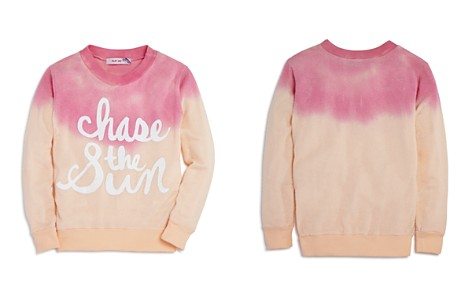 Play Six Girls' Chase the Sun Dip-Dyed Sweatshirt - Little Kid - Bloomingdale's_2