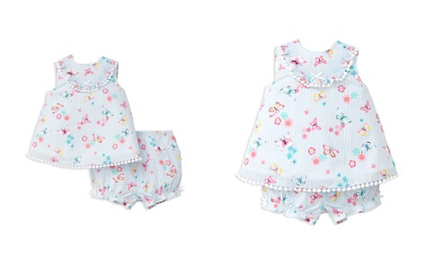 Little Me Girls' Striped Butterfly Pom-Pom 2-Piece Sunsuit - Baby - Bloomingdale's_2