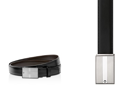 Montblanc Shiny Plate Buckle Belt - Bloomingdale's_2