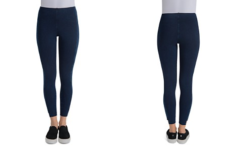 Lyssé Denim Step-Hem Ankle Leggings - Bloomingdale's_2
