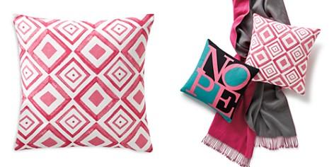 "Sparrow & Wren Diamond Geo Decorative Pillow, 20"" x 20"" - 100% Exclusive - Bloomingdale's_2"