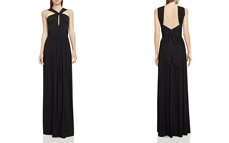 BCBGMAXAZRIA Draped Jersey Gown - Bloomingdale's_2