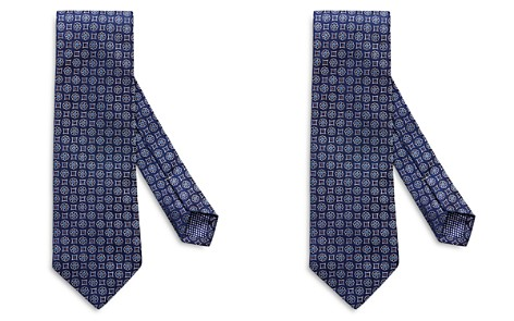 Eton Floral Square Neat Classic Tie - Bloomingdale's_2