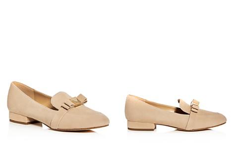MICHAEL Michael Kors Women's Caroline Suede Apron Toe Loafers - Bloomingdale's_2