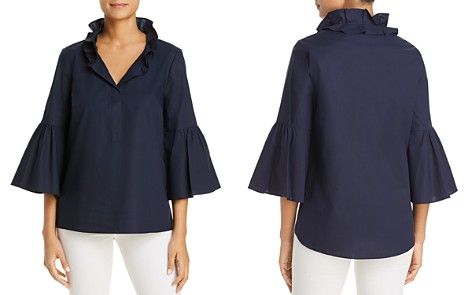 Le Gali Jade Ruffle Collar Blouse - 100% Exclusive - Bloomingdale's_2