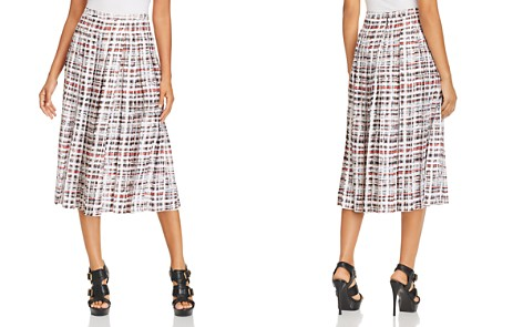 Burberry Farnborough Pleated Midi Skirt - Bloomingdale's_2