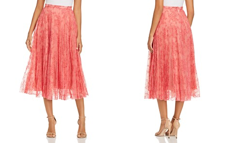 Burberry Wilton Layered Lace Midi Skirt - Bloomingdale's_2