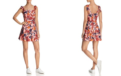 Finders Keepers Rhapsody Floral Print Mini Dress - Bloomingdale's_2