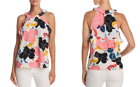 Cooper & Ella Senna Ruffled Floral-Print Tank - Bloomingdale's_2