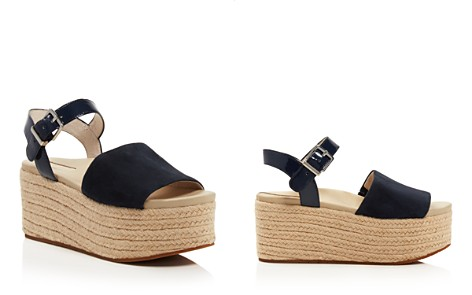 Kenneth Cole Women's Indra Suede & Patent Leather Platform Espadrille Wedge Sandals - Bloomingdale's_2