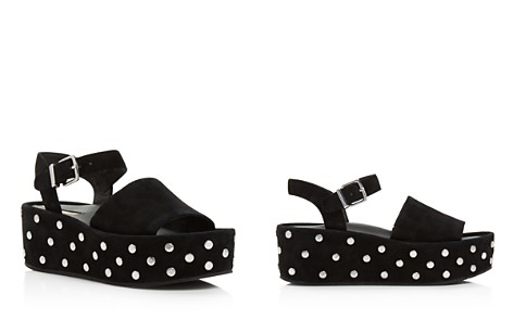 Kenneth Cole Women's Danton Studded Suede Platform Wedge Sandals - Bloomingdale's_2