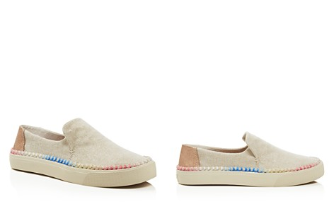 TOMS Women's Sunset Woven Slip-On Sneakers - 100% Exclusive - Bloomingdale's_2